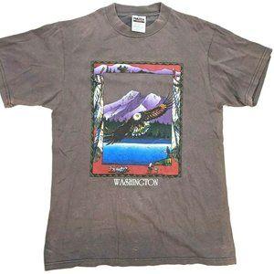 90s Tultex Washington Souvenir Tee Eagle Mountain